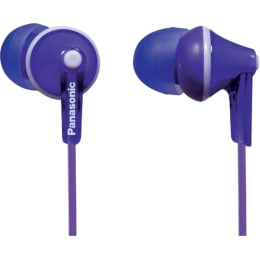 Panasonic ErgoFit In-Ear Wired Earphones with Mic (RP-TCM125, Violet)_1