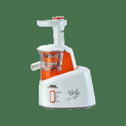 Usha 200 Watt Cold Press Juicer (CPJ 361S, White/Orange)_1