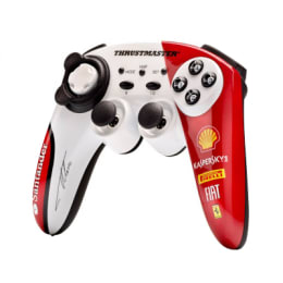 Thrustmaster Wireless Controller for Sony PS3 (GH0175, White/Red)_1