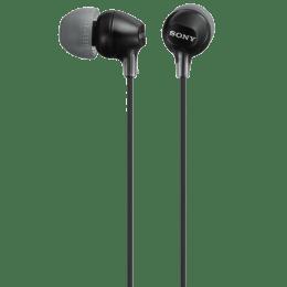 Sony In-Ear Wired Earphones (MDR-EX15LP, Black)_1