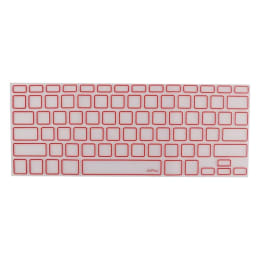 AirPlus AirGuard Keyboard Protector for Apple MacBook (AP-AG-914, Clear/Red)_1