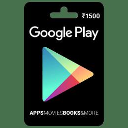 Google Play Gift Card - INR 1500_1