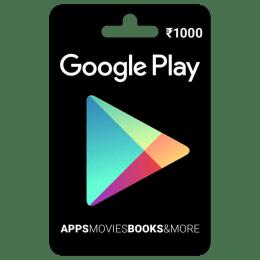 Google Play Gift Card - INR 1000_1