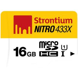 Strontium Nitro 16GB Class 10 MicroSDHC Memory Card (SRN16GTFU1R, Silver)_1