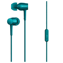 Sony In-Ear Wired Earphones with Mic (MDR-EX750AP, Blue)_1