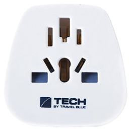 Travel Blue Tourist Wall Charging Adapter (957, White)_1