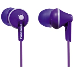Panasonic In-Ear Wired Earphones (RP-HJE125E, Violet)_1