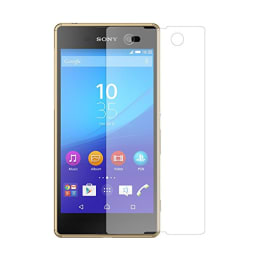 Stuffcool Tempered Glass Screen Protector for Sony Xperia M5 (PTGPSYM5, Transparent)_1