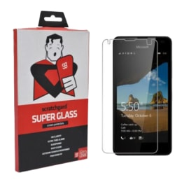 Scratchgard Tempered Glass Screen Protector for Nokia Lumia 550 (Transparent)_1