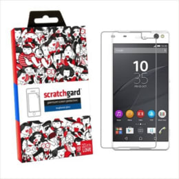 Scratchgard Tempered Glass Screen Protector for Sony Xperia C5 (Transparent)_1