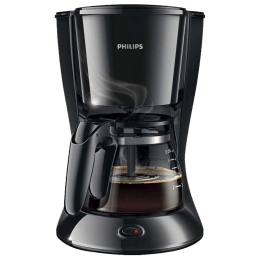 Philips Daily Collection 7 Cup Coffee Maker (Aroma Twister, HD7431/20, Black)_1