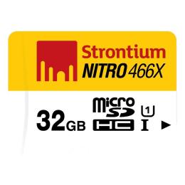 Strontium Nitro 32GB Class 10 SDHC Memory Card (SRN32GTFU1R, White/Yellow)_1