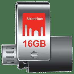 Strontium 16 GB OTG Flash Drive (SR16GSLOTG1Z, Silver)_1