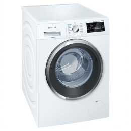 Siemens 9 kg Fully Automatic Front Loading Washing Machine (WM12P420IN, White)_1