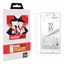 Scratchgard Twin Pack Screen Protector for Sony Xperia Z5 (Transparent)_1