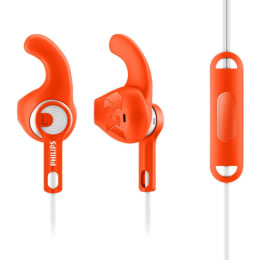 Philips ActionFit Sports In-Ear Wired Earphones with Mic (SHQ1305, Orange)_1