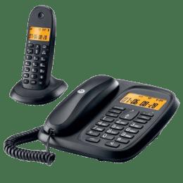 Motorola Corded and Cordless Combo Phone (CL101 I, Black)_1