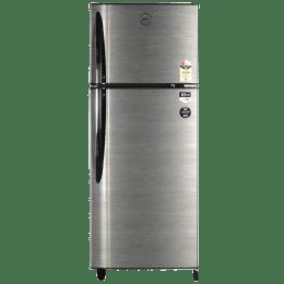 Godrej 260 L 2 Star Frost Free Double Door Refrigerator (RT EON 260 P 2.4, Silver Strokes)_1
