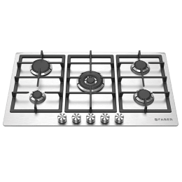 Faber 5 Burners Built-in Hob Cooktop (FPH 905 SS, Stainless Steel)_1