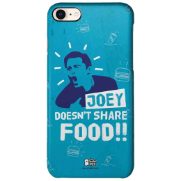The Souled Store F.R.I.E.N.D.S - Joey Polycarbonate Back Case Cover for Apple iPhone 8 (73232, Blue)_1