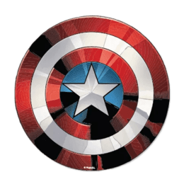 The Souled Store Captain America Shield Sticker (Red)_1