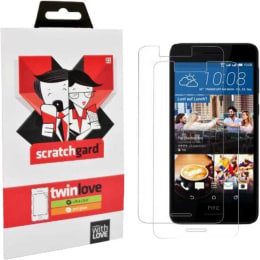 Scratchgard Twin Pack Screen Protector for HTC Desire 728 (Transparent)_1