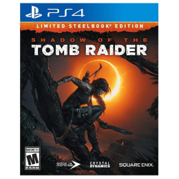 PS4 Game (Shadow Of Tomb Raider - Limited Steelbook Edition)_1