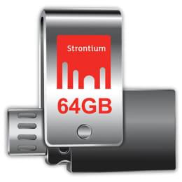 Strontium Nitro Plus 64GB USB 3.0 Flash Drive (SR64GSLOTG1Z, Grey)_1