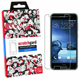 Scratchgard Tempered Glass Screen Protector for HTC One A9 (Transparent)_1