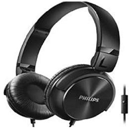 Philips SHL3095BK Headphones with Mic (Black)_1