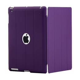 AirPlus AirCase Smart Hardback Protective Flip Cover for Apple iPad Air (AP-TC-407-PRPL, Purple)_1