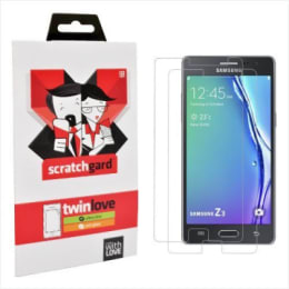 Scratchgard Twin Pack Screen Protector for Samsung Z3 (Transparent)_1