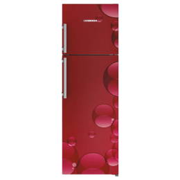 Liebherr 346 L 4 Star Frost Free Double Door Inverter Refrigerator (TCr 3540, Red Bubbles)_1