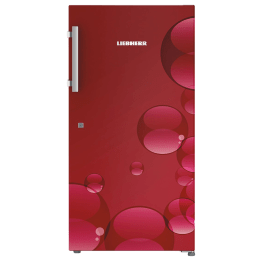 Liebherr 220 L 5 Star Direct Cool Single Door Refrigerator (DR 2240, Red Bubbles)_1