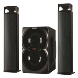 Philips MMS4200 2.1 Channel Convertible Multimedia Speaker (Black)_1