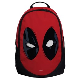 The Souled Store Deadpool- Mask 25 Litres Laptop Backpack (Red/Black)_1