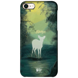 The Souled Store Harry Potter - Always Polycarbonate Mobile Back Case Cover for Apple iPhone 8 (73285, Green)_1