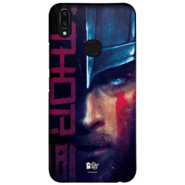 The Souled Store Thor - Mighty Polycarbonate Mobile Back Case Cover for Vivo V9 (130697, Multicolor)_1