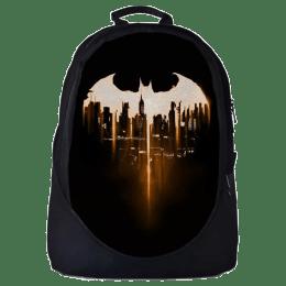 The Souled Store Batman Logo Travel Backpack (Black)_1