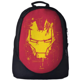 The Souled Store Iron Man- Mask 30 Litres Laptop Backpack (Multicolour)_1