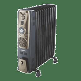 Bajaj Majesty 2900 Watt Oil Filled Room Heater (RH 11F Plus, Black)_1