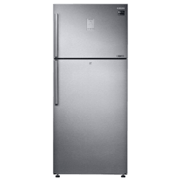 Samsung 551 Litres 3 Star Frost Free Inverter Double Door Refrigerator (5-in-1 Convertible, RT56K6378SL/TL, Real Stainless)_1