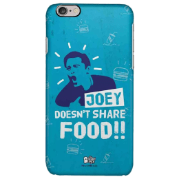 The Souled Store F.R.I.E.N.D.S - Joey Polycarbonate Mobile Back Case Cover for Apple iPhone 6 (30018, Blue)_1