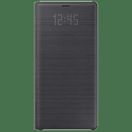 Samsung Crown Flip Case for Galaxy Note 9 (EF-NN960PLEGINBLUE, Black)_1