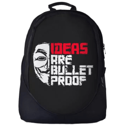 The Souled Store Ideas Are Bulletproof 25 Litres Laptop Backpack (Multicolour)_1