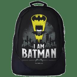 The Souled Store Batman- I Am Batman 30 Litres Laptop Backpack (Black)_1
