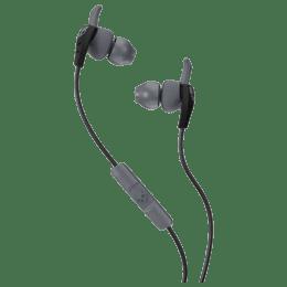 Skullcandy XT-plyo In-Ear Wired Earphones with Mic (S2WIHX-448, Black/Grey)_1
