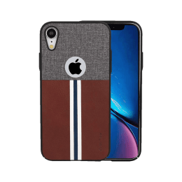 Stuffcool Eto Sport PU Leather Back Case Cover for Apple iPhone XR (ETOSPRTIP61, Dark Brown)_1