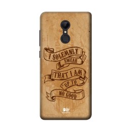 The Souled Store Harry Potter - Mischief Managed Polycarbonate Mobile Back Case Cover for Xiaomi Redmi Note 5 (84921, Brown)_1