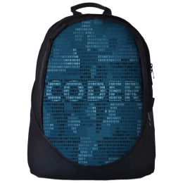 The Souled Store Coder 101 30 Litres Laptop Backpack (Blue)_1